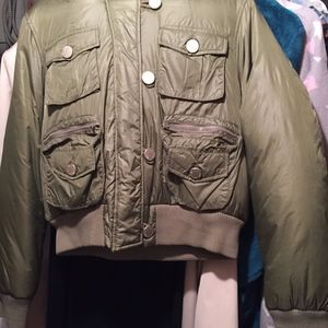 JLO COLLECTION BOMBER JACKER